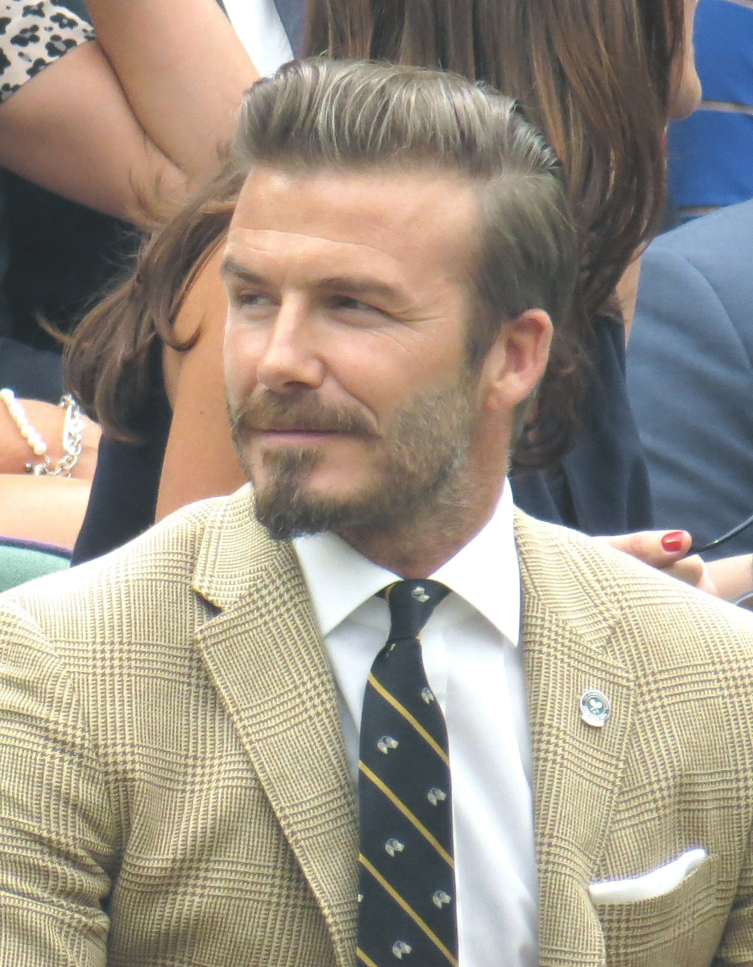 David Beckham is a big fan of Pie & Mash