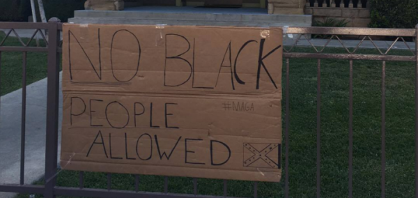 Phenomenal Hate Hoax No Black People Allowed And Confederate Flag Beutiful Home Inspiration Xortanetmahrainfo