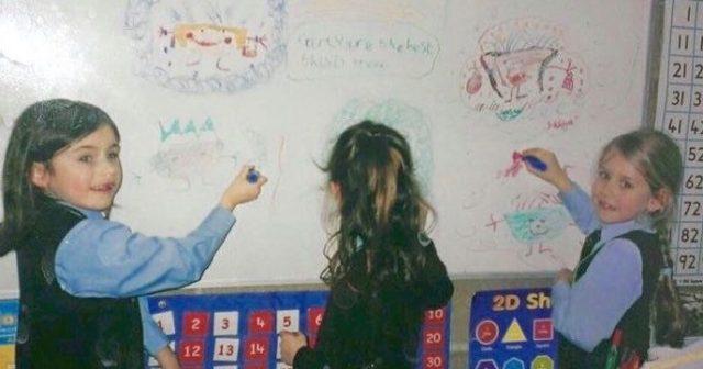 Primary schoool whiteboard