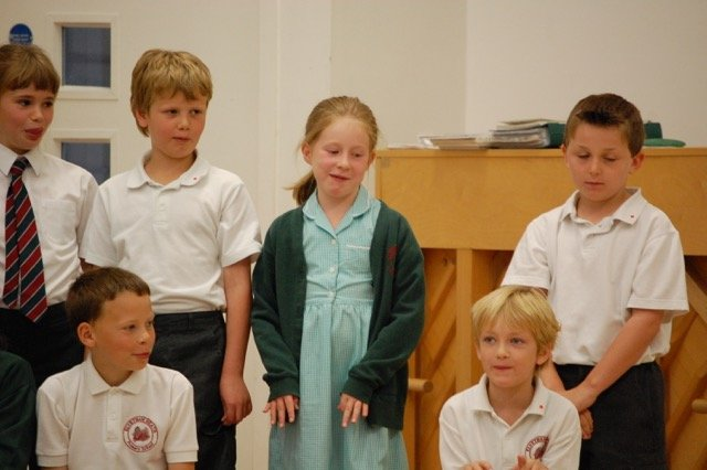 Primary school assembly actions